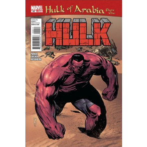 HULK #42 NM HULK OF ARABIA PART ONE