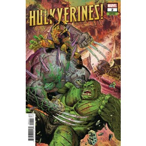 Hulkverines! (2019) #2 VF/NM Tony Moore Variant Cover
