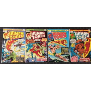 "HUMAN TORCH (1974) #""s 1, 2, 3, 4, 5, 6, 7, 8 COMPLETE SET"