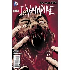 I, VAMPIRE (2011) #14 VF+ THE NEW 52!