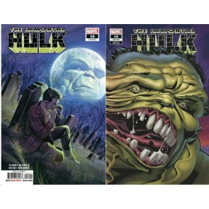 Immortal Hulk (2018) #'s 16 17 18 19 20 21 22 23 24 25 Regular + Variant Covers