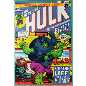 Incredible Hulk (1968) #161 FN (6.0) early Beast appearance