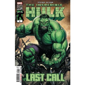 Incredible Hulk: Last Call (2019) #1 VF/NM Peter David Dale Keown