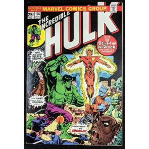 Incredible Hulk (1968) #178 VF+ (8.5) Warlock cover & story