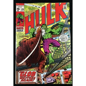 Incredible Hulk (1968) #129 VF- (7.5) Leader revives The Glob