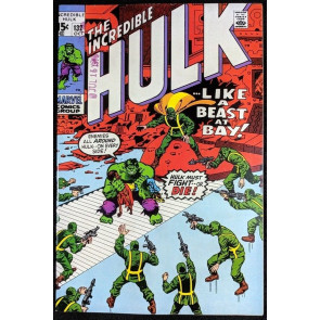 Incredible Hulk (1968) #132 VF- (7.5) vs HYDRA