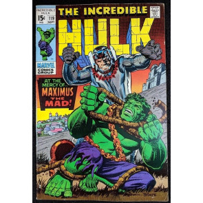 Incredible Hulk (1968) #119 FN/VF (7.0) Maximus of the Inhumans part 1 of 2