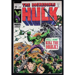 Incredible Hulk (1968) #120 VF/NM (9.0) Maximus of the Inhumans part 2 of 2