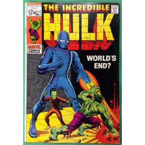 Incredible Hulk (1968) #117 FN+ (6.5) vs The Leader