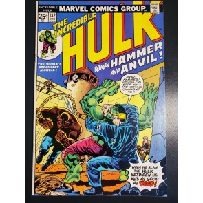 Incredible Hulk #182 (1974) FN 6.0 3rd Appearance Wolverine |