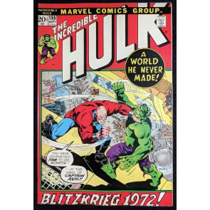 Incredible Hulk (1968) #155 VF+ (8.5) 1st app Shaper of Worlds