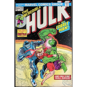 Incredible Hulk (1968) #174 VF+ (8.5) vs Cobolt Man part 2 of 2