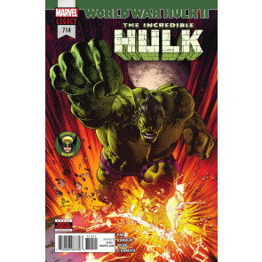 Incredible Hulk (2017) #714 VF/NM World War Hulk II