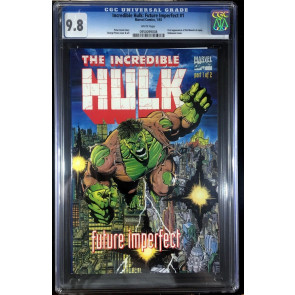 Incredible Hulk Future Imperfect (1993) #1 CGC 9.8 1st app Maestro (0950099008)
