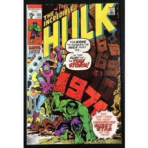 Incredible Hulk (1968) #135 FN+ (6.5) Kang & Phantom Eagle app