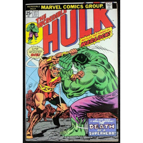 Incredible Hulk (1968) #177 VF (8.0) Warlock cover & story