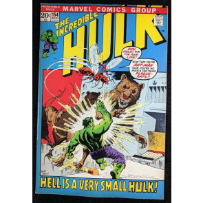 Incredible Hulk (1968) #154 VF (8.0) Ant-Man cover & app