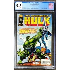 Incredible Hulk (1968) #449 CGC 9.6 1st app Thunderbolts (3701833019)