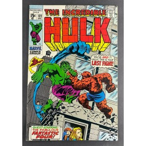 Incredible Hulk (1968) #122 FN/VF (7.0) Thing Battle Cover Fantastic Four Trimpe