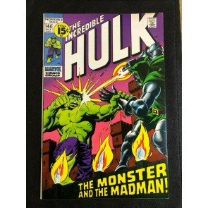 Incredible Hulk (1968) #144 VF (8.0) Herb Trimpe Doctor Doom