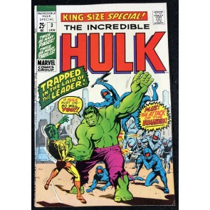 Incredible Hulk Annual (1971) #3 FN/VF (7.0)