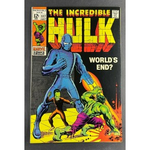 Incredible Hulk (1968) #117 FN/VF (7.0) Leader Herb Trimpe Art