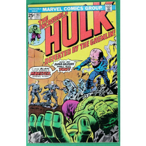 Incredible Hulk (1968) #187 FN+ (6.5) vs Gremlin pt 1 of 2