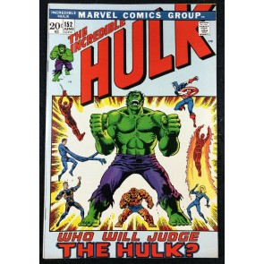 Incredible Hulk (1968) #152 VF+ (8.5) Daredevil Captain America Fantastic Four