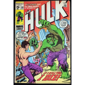 Incredible Hulk (1968) #130 FN+ (6.5) story cont. from Captain Marvel #21