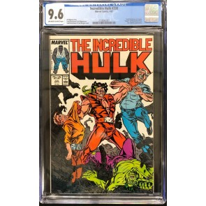 Incredible Hulk (1968) #330 CGC 9.6 Todd McFarlane Art Begins (2128262007)