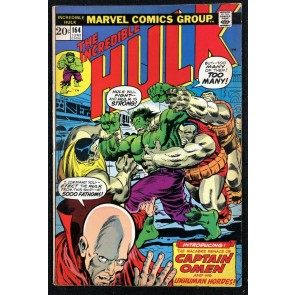 Incredible Hulk (1968) #164 FN+ (6.5) 1st app Captain Omen & Colonel Armbuster