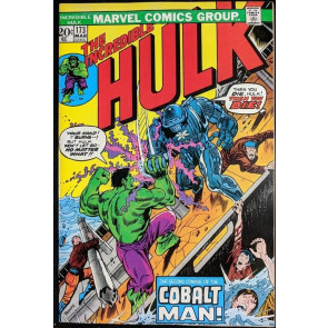 Incredible Hulk (1968) #173 VF+ (8.5) vs Cobolt Man part 1 of 2