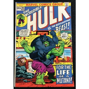 Incredible Hulk (1968) #161 FN/VF (7.0) early Beast app