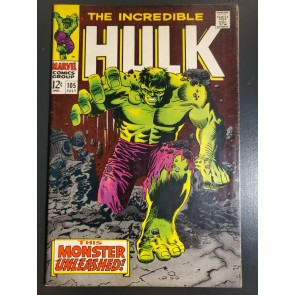 Incredible Hulk #105 (1968) VF- (7.5) 1st Missing Link|