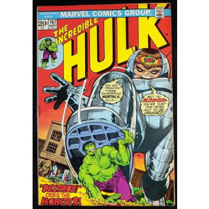 Incredible Hulk (1968) #167 VF- (7.5)  vs MODOK