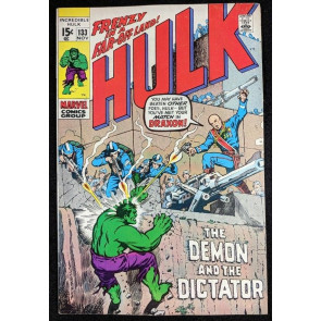 Incredible Hulk (1968) #133 VF- (7.5) vs HYDRA