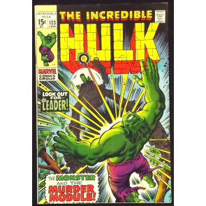 INCREDIBLE HULK #123 FN/VF THE LEADER
