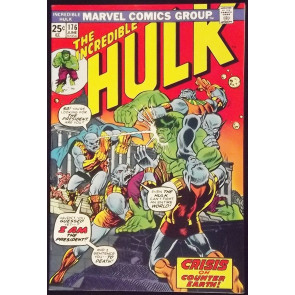 INCREDIBLE HULK #176 VF- WARLOCK CAMEO