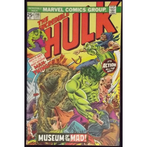 INCREDIBLE HULK #198 VF+ MAN-THING COLLECTOR