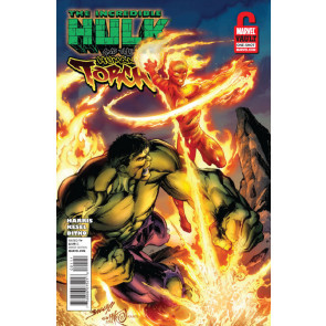 INCREDIBLE HULK & THE HUMAN TORCH FROM THE MARVEL VAULT