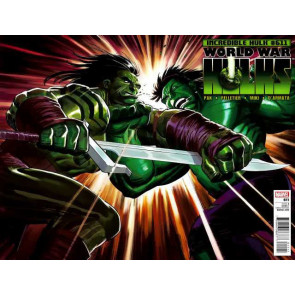 INCREDIBLE HULKS #611 NM WORLD WAR HULKS