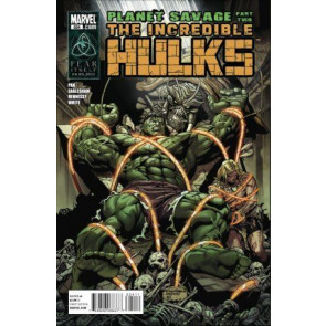 INCREDIBLE HULKS #624 NM PLANET SAVAGE PART TWO KA-ZAR