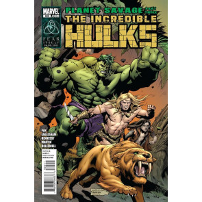 INCREDIBLE HULKS #625 VF/NM PLANET SAVAGE PART THREE