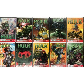 Indestructible Hulk (2013) #1-20 NM + Annual #1 Near Complete set missing 6 7