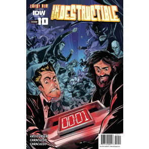 INDESTRUCTIBLE (2014) #10 VF/NM IDW
