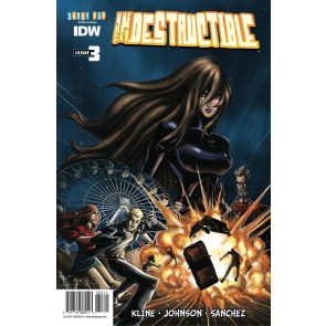 INDESTRUCTIBLE (2014) #3 VF/NM IDW
