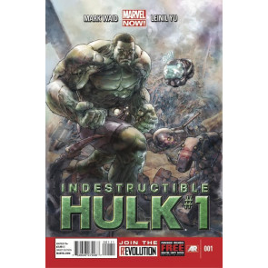 INDESTRUCTIBLE HULK #1 NM MARVEL NOW!