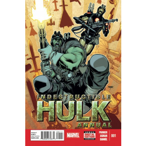 INDESTRUCTIBLE HULK ANNUAL #1 VF MARVEL NOW!