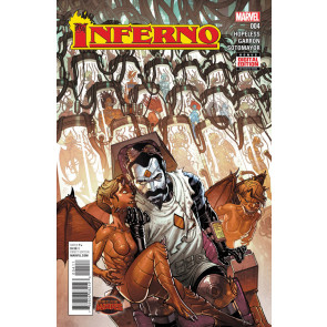 INFERNO (2015) #4 VF/NM SECRET WARS BATTLE WORLD TIE-IN