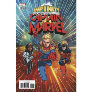 Infinity Countdown: Captain Marvel (2018) #1 VF/NM Ron Lim Variant Cover